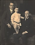 [Walker Evans with His Father and Grandfather]