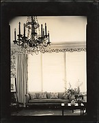 [Living Room, Showing Chandelier and Sofa, Probably Joseph Verner Reed Family Residence]