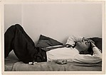 [Walker Evans Reclining on Daybed, New York City]