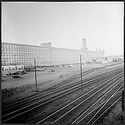 """[85 Views of Massachusetts Wool Mills and Surrounding Area, Commissioned by <i>Fortune</i> Magazine for """"The Twilight of American Woolen"""", Published March 1954]"""