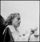 [36 Portraits of Eleanor Clark on Roof of 441 East 92nd Street Apartment Building, New York City]