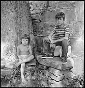 [12 Portraits of Voorhees Children, Old Lyme, Connecticut]