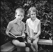 [58 Portraits and Studies: Leslie Thompson's Children (35) and Gothic Revival Church (23), Ipswich, Massachusetts]