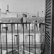 [12 Views of Rooftops, Possibly from the Hotel Continental, Paris]