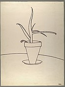 [Line Drawing of Potted Plant]