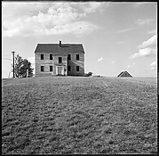 [3 Views of House in Field]