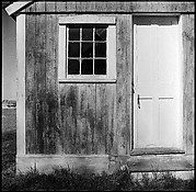 [12 Exterior Views and Details of Wooden Shed, Essex School, Essex, Connecticut]