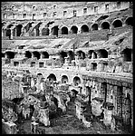 [Detail of Roman Colosseum]