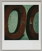 "[Detail of Sign Lettering: ""OO""]"