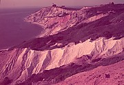 """[Gay Head Cliffs, Martha's Vineyard, for Fortune Article """"Clay: The Commonest Industrial Raw Material""""]"""