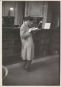 "[Reader, New York Public Library, for Vogue Article ""The Private Lives of Public Books""]"