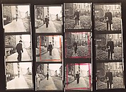 [2 Original Annotated Contact Sheets of Father James Harold Flye for Vogue Magazine]