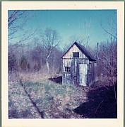 [Wooden Outbuilding in Field, Probably Old Lyme, Connecticut]