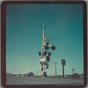 "[Railroad Crossing, For Fortune Article ""The U.S. Depot""]"