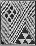 [Tufted Textile (Detail), Belgian Congo]