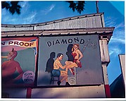 [Two Prints of Circus Sideshow Billboards, Santa Monica, California]