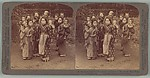 "[Six Stereographs: ""Big sisters and little brothers in the Land of the Rising Sun"", ""Tower of London"",""Princes Street, Edinburgh, Scotland"", ""King Edward VII, Prince of Wales..."", ""The Crowned King, Edward VII..."", ""The great Suspension Bridge"""