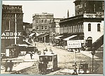 [Copy Photograph of 1882 Atlanta Street Scene]