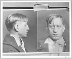 [Press Photograph of Longshoreman's Mugshot]