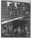 [Three Copy Photographs: August Sander, Museum of Modern Art Press Print of Alfred Stieglitz's The Steerage, and Postmortem Mother and Child]