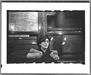 [Helen Levitt Seated in Subway Car, New York City]