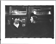 [Subway Passengers, New York City: Two Women in Conversation]