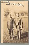 [Two School Friends of Walker Evans, Loomis Institute, Windsor, Connecticut]