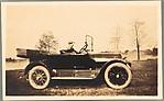 [Walker Evans Jr. Seated in Car]