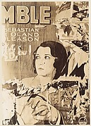 [Torn Movie Poster Depicting Couple and Title Fragment: &quot;MBLE&quot;]