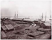 City Point, Virginia. Terminus of U.S. Military Railroad