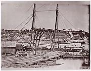 Wharf opposite Richmond
