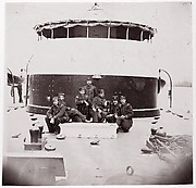 "[Crew of U.S. Monitor ""Saugus""].  Brady album, p. 172"