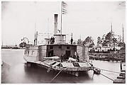 "U.S. Gunboat ""Commodore Perry"" on Pamunkey River"
