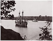 "U.S. Monitor ""Saugus"" and Gunboat ""Mendota"", Appomattox River"