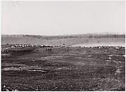 [Maneuvers, Union Cavalry, Winter Quarters].  Brady album, p. 127