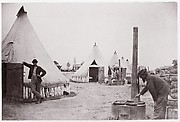 Camp of 153rd New York Infantry