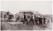 Headquarters, Co. F, 11th Rhode Island Infantry, Miner's Hill, Virginia