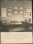 [Table in Harold Ross' Office at The New Yorker]