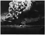 [Warship Exploding, Pearl Harbor, December 7, 1941]