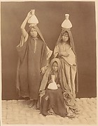 [Arab Girls Carrying Water]