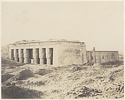 Dendérah (Tentyris), Temple d'Athôr - Vue Générale