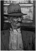 Man on Porch, Hornitos, California