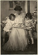 H.R.H. Princess Rupprecht with Prince Leopold and Albrecht Johann