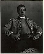 Robert Brauns of the Hillburn Players as Emperor Jones