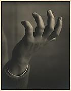 Hand of Allan Bier - Pianist.  Carmel, 1933