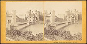 [Group of 13 Early Stereograph Views of British Castles]