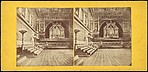 [Group of 3 Early Stereograph Views of British Palaces]