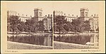 [Group of 3 Early Stereograph Views of British Public Buildings]