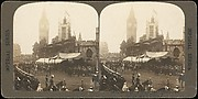 [Group of 4 Stereograph Views of the Coronation of Edward VII, London, England]
