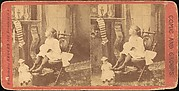 [Group of 6 Stereograph Views of Christmas Scenes]